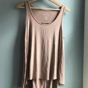 American Eagle Soft and Sexy Pink Tank Top